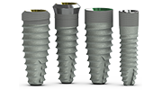 Tapered Laser-Lok dental implants